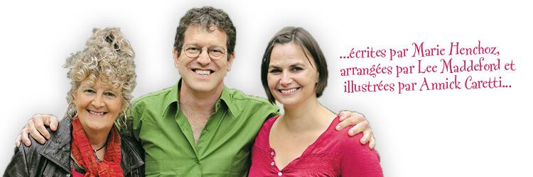 Sautecroche et Minicroche: Marie, Lee et Annick
